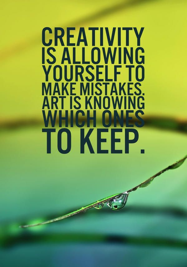 Art quote-knowing to keep