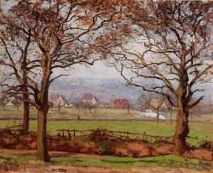 Camille Pissarro-near-sydenham-hill-looking-towards-lower-norwood-1871
