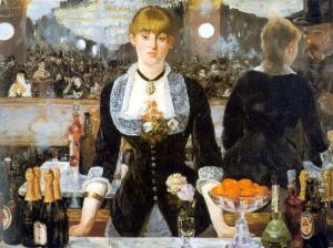 Edouard Manet-Bar at the Folies Bergere-1881-2