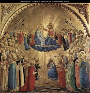 Giotti di Bondone-The Coronation of the Virgin