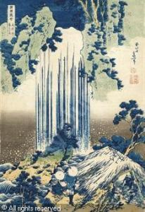 Hokusai-Yoro Waterfall