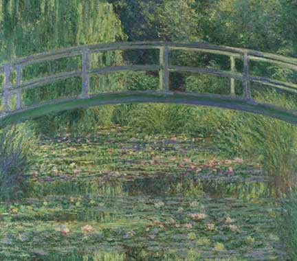 Impressionism-France-Monet-Water lily pond