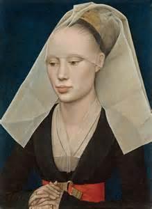 Rogier van der Weyden-Portrait of a lady