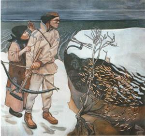 Akseli_Gallen-Kallela-Joukahainen's Revenge-1897