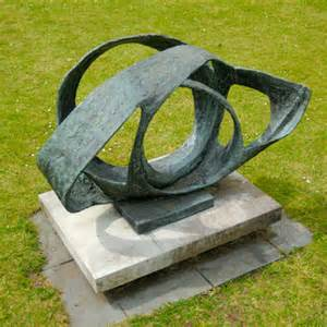 Barbara Hepworth-bronze-oval form Trezion-1961-63