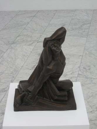 Death of Grettir by Asmundur Sveinsson