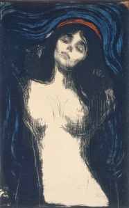 Edvard Munch-The Madonna-1894