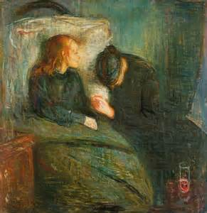 Edvard Munch-The Sick Child-1886-1925