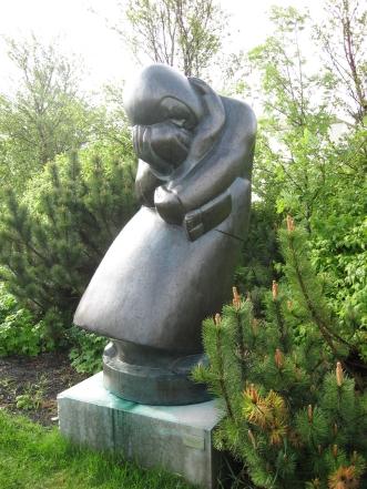 Fykur yfir haedir by Asmundur Sveinsson