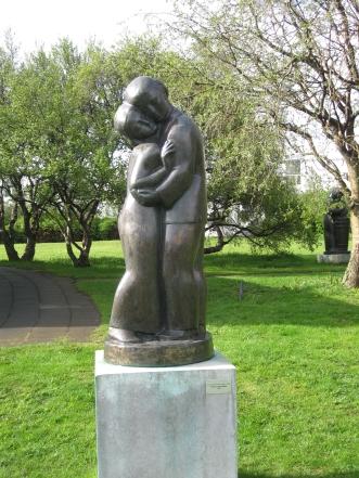 Piltur og stulka by Asmundur Sveinsson